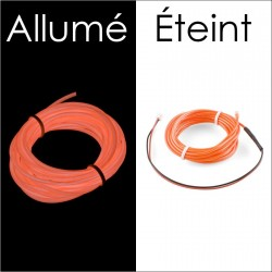 Fil électroluminescent Orange diamètre 2.2mm